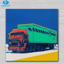 the truck 1985 ii pop art print on canvas Wall Painting picture Home abstract Decorative Art Picture Prints no frame