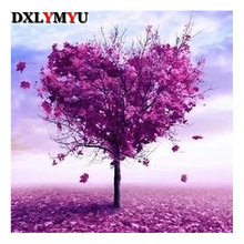 The Giving Tree Picture Of Rhinestone 3D Diy Diamond Painting Cross Stitch Kits 5D Embroidery Diamond Mosaic(China)