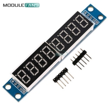 MAX7219 LED Dot Matrix 8 Digit Digital Tube Display Control Module For Arduino