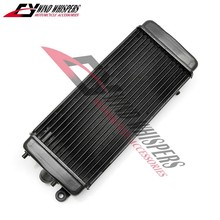 Motorcycle aluminum Water Tank Radiator Cooler For Honda VLX Steed 400