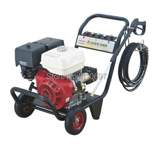 9HP gasoline/diesel engine powered high pressure washer plunger pump 200bar 13LPM car wash machine industrial cleaning machine