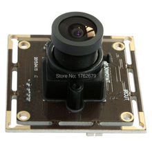 2.1mm lens wide view angle 1.3MP1280 x 960 hd resolution mini 38x38mm board size usb small camera module(China)