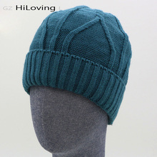 2016 New Style Cool Mens Female Warm Crochet Beanies Autumn Winter Hats Skullies Cap Women Winter Hats Knitting Pattern Hats