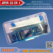 gsmjustoncct The Newest EASY JPIN 35 IN 1 For RIFF ORT GPG MEDUSA JTAG BOX/Unlock &Flash&Repair mobile phone software(China)