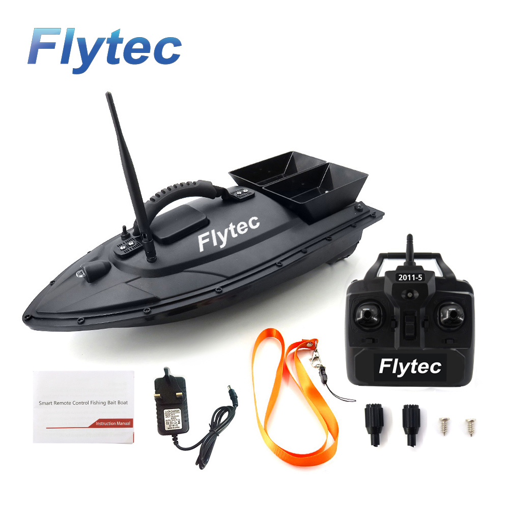 Flytec 2011-5 Fish Finder Fish Boat 1.5kg Loading 500m Remote Control Fishing Bait Boat RC Boat Ship Speedboat RC Toys (3)