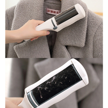 New Reusable Clothes Coat Sticky Lint Roller Dog Pet Hair Remover Dust Fluff Brush Home Rollling Cleaning Device