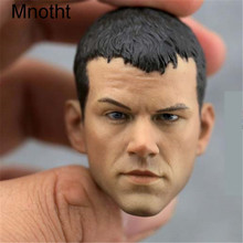 Mnotht 1/6 Custom Matt Damon Bourne Head Sculpt Model 1:6 Scale Male Solider Head Carving For 12in Action Figure l31 Solider Toy