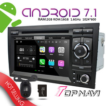 WANUSUAL 7'' Android 7.1 Car Navigator for Audi A4 2002-2008 Automotive PC Media GPS Plug&Play Bluetooth Device wifi Multimedia(China)