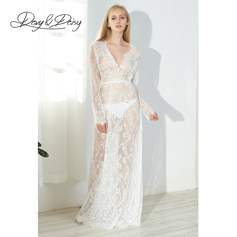 DavyDaisy Women Dress Plus Size Lace V Neck Long Sexy Club Floor Length Adjustable Summer Party Maxi Dress Female Dresses DS001(China (Mainland))