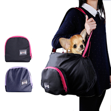 Folding handbag Portable Easy Pet Carrier Dog Cat outdoor carrier bag handbag Pocket Dog Bag Carrier Easy Portable Travel Petbag