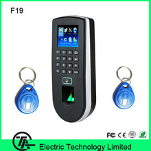 Biometric 3000 fingerprint users TCP/IP wiegand F19 fingerprint + keyboard +125KHZ RFID card access control system(Hong Kong)