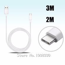 Type C Cable For Huawei P9 Plus USB C Extension Long Data Sync Charging Cable 2M 3M Type C Cable For Huawei P9 Plus P9 Charger
