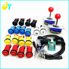Jamma MAME DIY kit 6 kind of arcade joystick +HAPP style psuh button + PC PS3 USB controller PC keyboard raspberry pi(China)