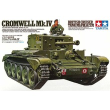 OHS Tamiya 35221 1/35 Cromwell Mk IV British Cruiser Tank Mk VIII A27M Military Assembly AFV Model Building Kits