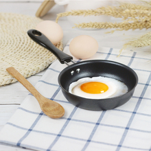 CHANOVEL 12CM Useful Cute Omelette Breakfast Mini Saucepan Pancake Egg Frying Pan Non-Stick Pot Mini Cookware Kitchen(China)