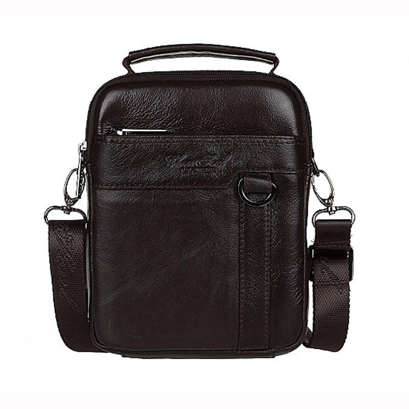 Hot sale 100% genuine leather messenger bag for men shoulder bag male cowhide  casual business Inclined shoulder bag<br>