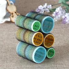 hot magic hair curls do not hurt hair cylindrical curling hair curler self-adhesive hair volume Curling tube rolls A4