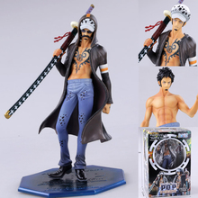 TV Animation ONE PIECE Death Surgeon Tattoo POP Trafalgar Law Action Figure Replaceable Excellent Model Toy Gift Collectibles(China)