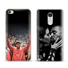 Kanye West Coque For Xiaomi Redmi Note 2 3 4 4x 5a Pro Mi4 Mi5 Mi5s Mi5X Mi6 Minote Fashion Mobile Phone Case Cover Shell Bags(China)