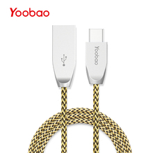 Buy Yoobao 412C USB Type C Cable 1m Fast Charging Data Cable 2A Sync Type-C Charger Cable Oneplus 2 Nexus 5X Huawei Mate P10 for $5.54 in AliExpress store