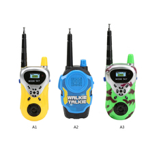 2pcs/Lot Remote Wireless Call plastic Electric Walkie-talkie Toys children Kids Boys Girls Brithday Christmas Gift toy