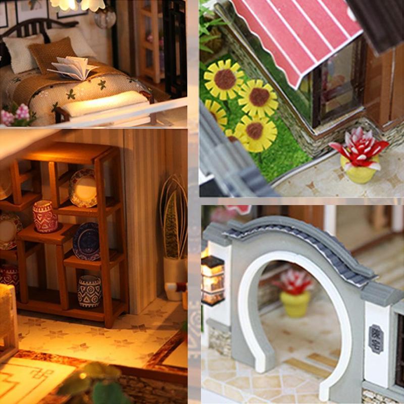 Dollhouse Miniatura De Cerámica Maceta 1:12 hágalo usted mismo Decoración de casa de muñecas accesorios Lu