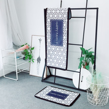 Nordic Minimalist Fashion Style Digital Printing Mat Bedroom Kitchen Bathroom Carpet Balcony Window Office Chair Floor Mats(China)