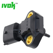 Brand New 100Bar Pressure Sensor Fuel Temperature For Fiat Doblo 1.4 Natural Power CNG Engine 0261230145 55228825(China)