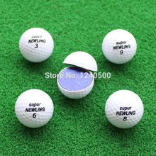 Three Piece Golf Ball Golf Game Ball Super Long Distance Golf Ball Wholesale 10pcs/lot(China)