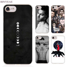 BINYEAE Derek Hale Quotes Teen Wolf Clear Cell Phone Case Cover for Apple iPhone 4 4s 5 5s SE 5c 6 6s 7 Plus(China)