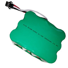 14.4V Ni-MH 3500mAh Vacuum Sweeping Robot Rechargeable Battery Pack For KV8/510B/S350/Z520CleannaXR210 Battery(China)