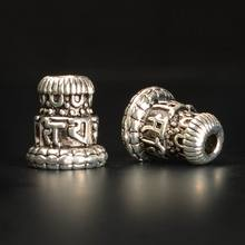 Tibetan buddha bead alloy Tibetan silver Bead  buddha pagoda buddha head Bead DIY Jewelry accessries Wholesale 50pcs/lot Y0047