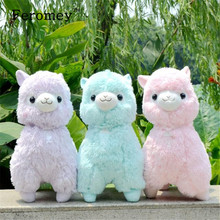 35cm/45cm Japanese Alpacasso Soft Plush Toys Doll Giant Stuffed Animals Lama Toys Kawaii Alpaca Plush Doll Kids Birthday Gift(China)
