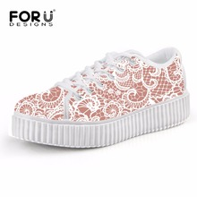 Forudesigns otoño del resorte de moda cómodo mujeres jogging shoes tenis walking shoes dulce femenina ladys zapatillas deportivas al aire libre