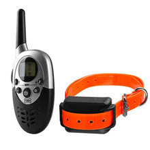 Waterproof Remote 1000M Pet Dog Training Collar Pet Dogs Electric Shock Training Collar Rechargeable LCD Remote for 1 Or 2 Dogs(China)
