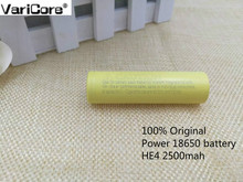 3 pcs. HE4 18650 2500mAh lithium Rechargeable battery 18650 3.7V power supply of the Electronic special  20A discharge