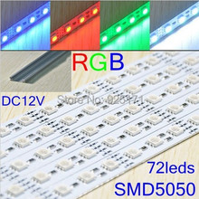 20 pcs/lot 5050 SMD 100cm 72 LEDs white,warm white non-waterproof led tube,LED rigid strip, CPAM Free shipping(China)
