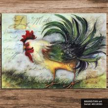 cock Animal Mediterranean oil Painting Drawing art Spray Unframed Canvas Frameless action scarf islamic medical figure 40118383