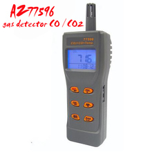 AZ77596 carbon dioxide detector CO2 CO Detector Tester 2-in-1 Gas detector Toxic gas analyzer Instrumentation(China)