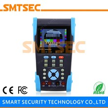 "HVT-6201T 3.5"" LCD IP Address Scaning POE PTZ UTP Cable Test CCTV Tester Monitor 10x Zoom Video Image CCTV TDR Tester Pro"