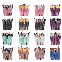 Buy MAANGE Professional 15 Pcs Makeup Brushes Set Eye Shadow Foundation Eyebrow Eyeliner Eyelash Lip Brush Cosmetic Make Eye Tool for $2.93 in AliExpress store