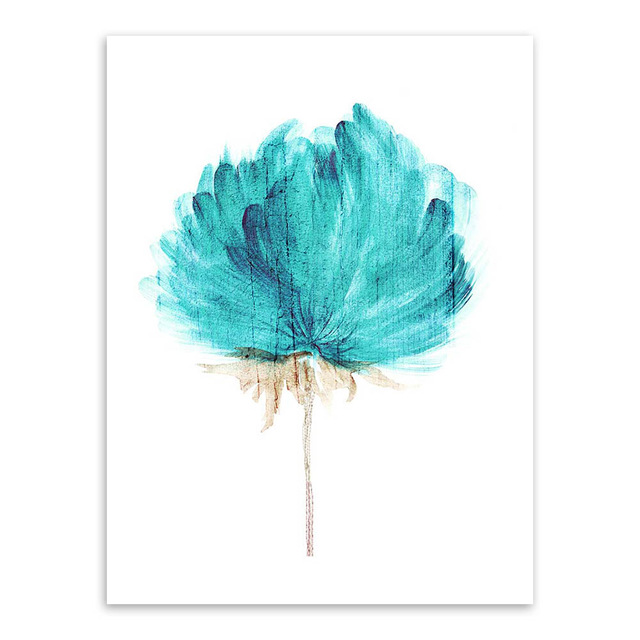 Modern-Watercolor-Beautiful-Plant-Flower-Floral-Rose-Canvas-A4-Art-Print-Poster-Nordic-Wall-Picture-Home.jpg_640x640 (5)