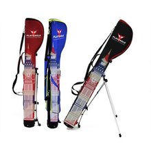 Pre Sale PLAYEAGLE Unique Design Golf Stand Bag England Style Waterproof Nylon Golf Gun Bag Embroidery Logo(China)