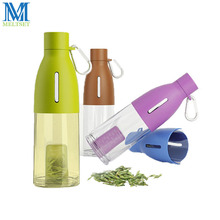 1PC Bud Shaped Filter Plastic Tea Tumbler 490ML Sports Water Bottle Outdoors Portable Travel Bottle