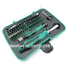 32 pcs in 1 Precision Star Tor Flat Hex Philips Bits Screwdriver Mutifuctional Tools Set combination