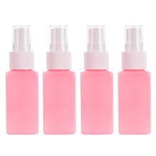 4PCS 1 SET Mini Plastic Spray Bottle Transparent 30ml Small Empty For Make Up And Skin Care vaporizador Refillable Bottle