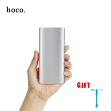 hoco metal High capacity Power Bank 12000mAh Dual USB Portable Charger External Battery Pack Universal Charger for All Phones