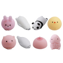 Doll Adult Stress Fun Novelty Antistress Ball Toy Cute Seals Emotion Vent Ball Resin Relax Practical Jokes Relieve Novelty Toys