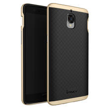 FOR ONEPLUS 3T CASE iPaky Original Brand PC Frame+Silicone Hybrid Back Cover Cellphone Case for OnePlus 3 A3000/3T