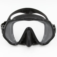 2017 Brand Seal Silicone Skirt Strap Snorkel Scuba Dive Mask & Goggle with Great Vision & Tempered Glass for Adult Free Diving(China)